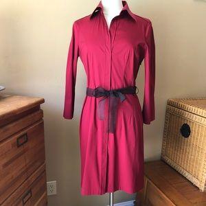 BOSS Hugo Boss Burgundy Dress